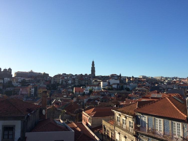 Da Sé com vista para a Torre dos Clérigos